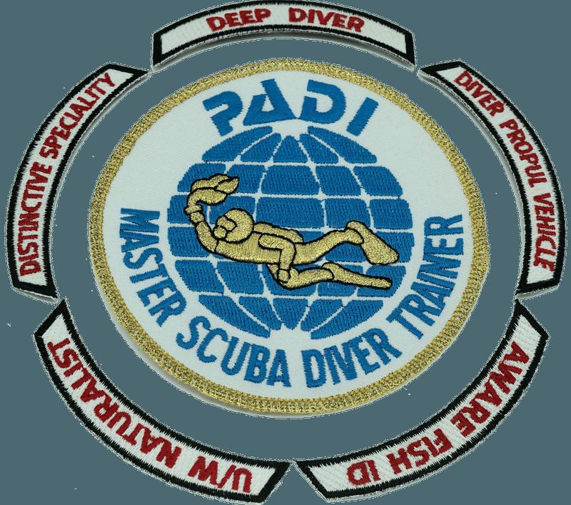 Master Scuba Diver Trainier