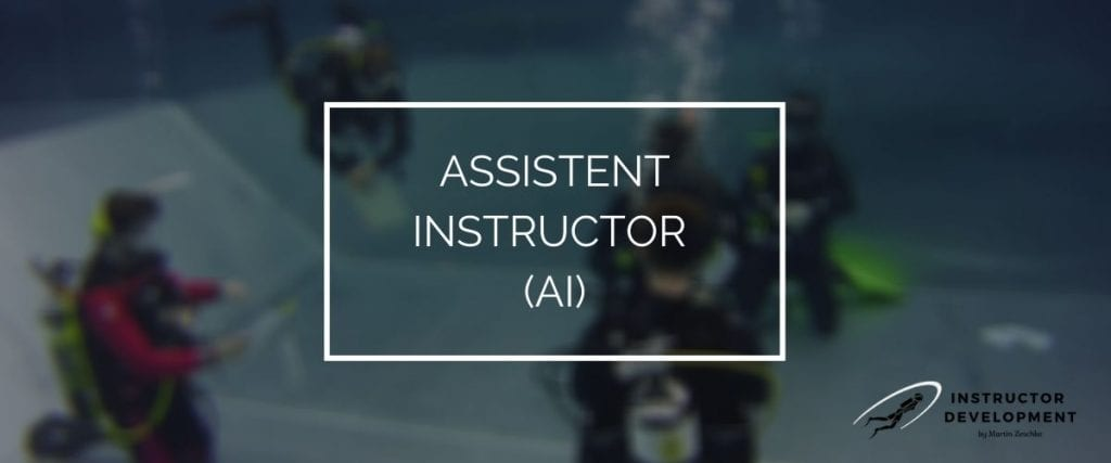 PADI Assistent Instructor (AI)