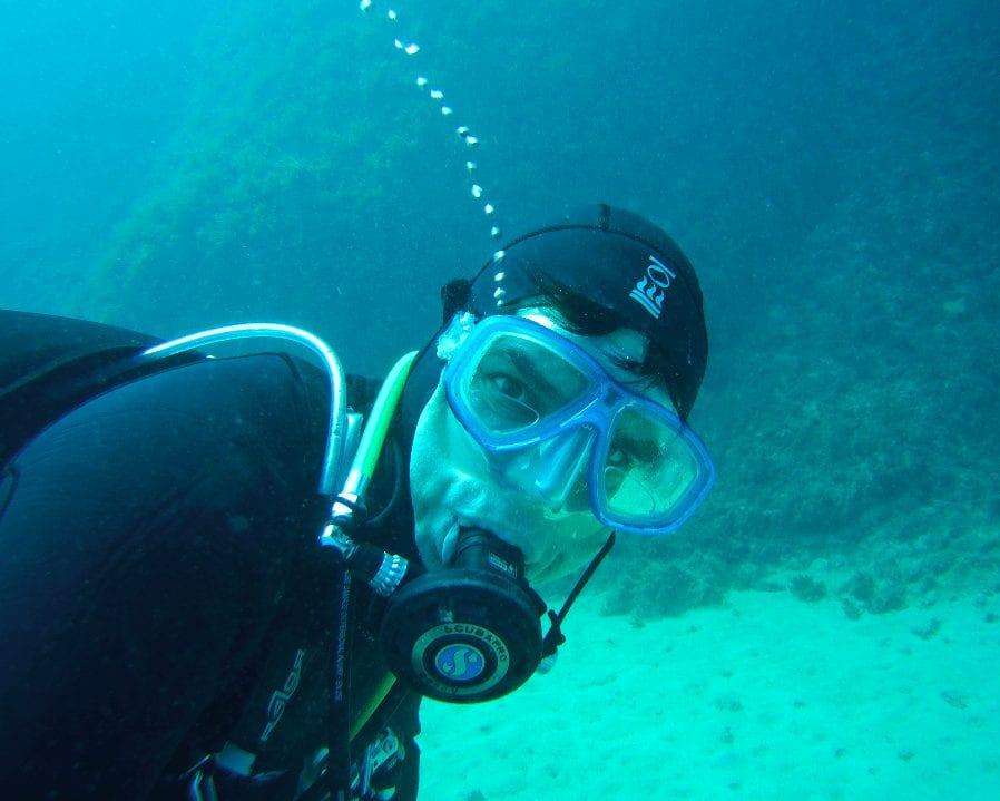 Martin Zeschke Unterwasser