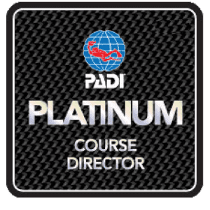 PADI Platinum Instructor